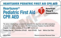 Blended Learning Heartsaver Pediatric First Aid-CPR-AED ...
