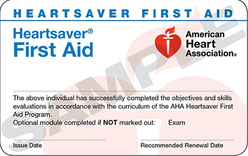 First Aid - CPR - AED Courses - American Heart Association ...