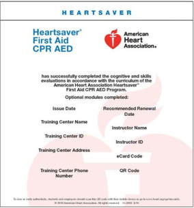Class Schedule and Registration Links - American Heart Association CPR Classes Phoenix Area - Desert Education Solutions