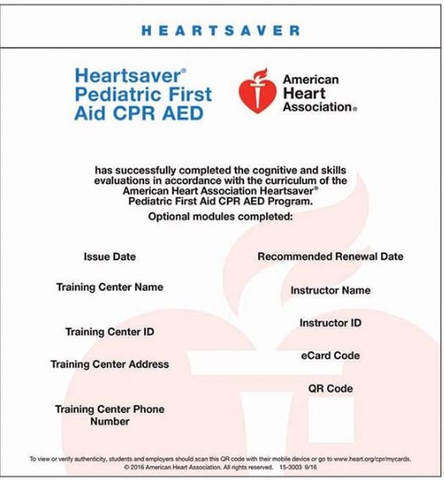 First Aid Cpr Aed Courses American Heart Association